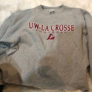 Football sweatshirt.  Size medium.